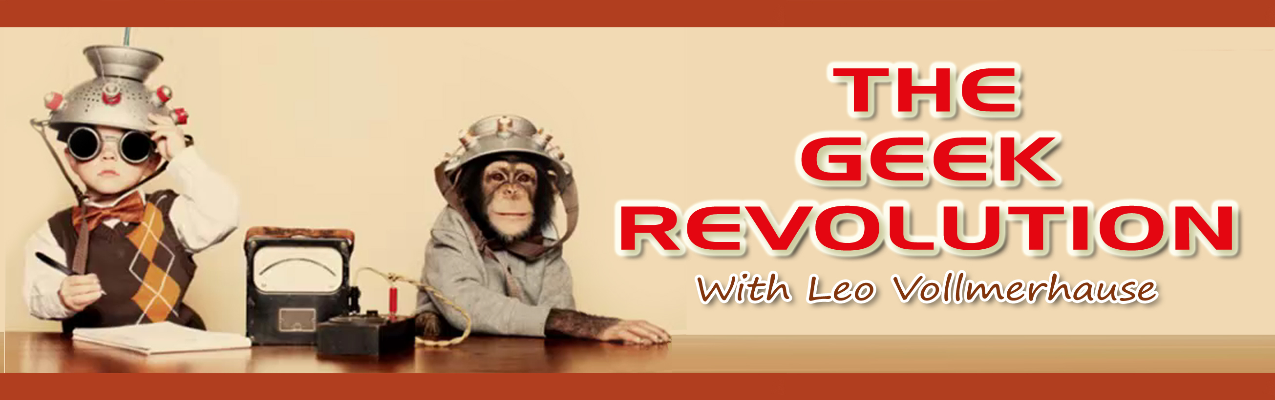 The Geek Revolution Show Home
